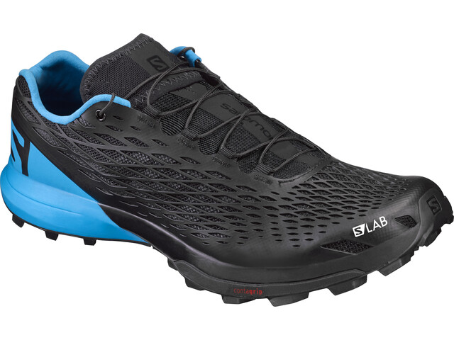 Salomon S/Lab XA Amphib Hardloopschoenen blauw/zwart